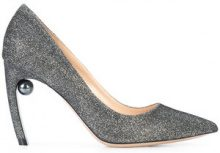 Nicholas Kirkwood - Maeva pearl pumps - women - Leather - 37, 37.5, 38, 38.5, 39, 40.5, 41, 36.5, 39.5, 40 - Metallizzato