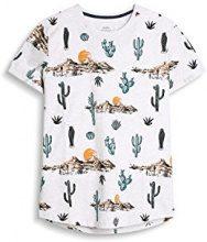 edc by Esprit 047cc2k005, T-Shirt Uomo, Bianco (off White), Large