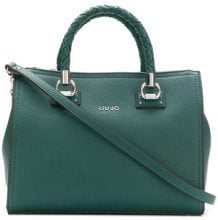 - Liu Jo - Manhattan woven handle tote - women - fibra sintetica - Taglia Unica - di colore verde