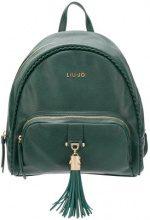 - Liu Jo - Piave backpack - women - Polyester/Poliuretano Resina - Taglia Unica - Verde