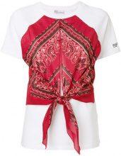 Red Valentino - bandana T-shirt - women - Cotone - S, M - WHITE