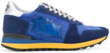 Atlantic Stars - Sneakers 'Argo' - men - Cotone/Leather/Polyamide/rubber - 40, 41, 42, 43, 44, 45 - BLUE