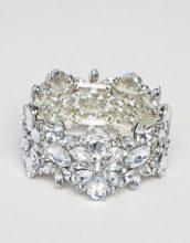True Decadance - Braccialetto argento decorato con strass - Argento