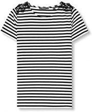 ESPRIT Collection 027eo1k026, T-Shirt Donna, Nero (Black), 34 (Taglia Produttore: X-Small)