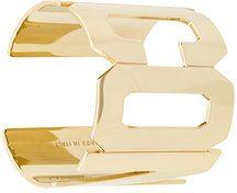 - Dsquared2 - ICON cuff bracelet - women - ottone - S, M, L - effetto metallizzato