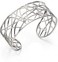 Elements Silver Donna 925 argento Rotonda bianco Zirconia cubica