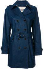 - Herno - Trench doppiopetto - women - cotone/fibra sintetica - 40 - di colore blu