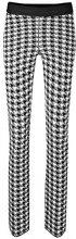 Marc Cain Sports HS 81.35 M81, Pantaloni Donna, Multicolore (Black and White 910), 48 (N6/48)