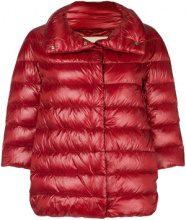 - Herno - feather down puffer jacket - women - fibra sintetica/cotone/acetato/fibra sinteticapiuma d'oca - 46, 40 - di colore rosso