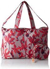 Oilily Enjoy Shopper Xlhz - Borse a secchiello Donna, Rot (Dark Red), 20x31x46 cm (B x H T)