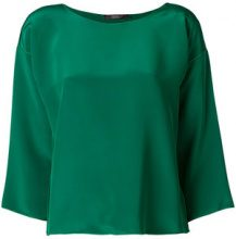 Max Mara - Locri blouse - women - Silk - 42 - GREEN