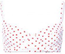 Onia - Onia x WeWoreWhat Lydia bikini top - women - Nylon/Spandex/Elastane - XS, S, M, L - WHITE