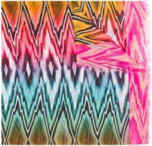 Missoni - Sciarpa con stampa grafica - women - Modal/Linen/Flax - OS - MULTICOLOUR