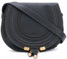 Chloé - Borsa a bisaccia 'Marcie' - women - Calf Leather - One Size - Nero
