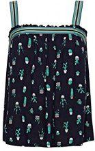 edc by Esprit 058cc1f024, Camicia Donna, Multicolore (Navy 400), X-Large