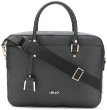 Liu Jo - Isola laptop bag - women - PVC/Polyester - OS - Nero