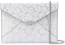 Michael Michael Kors - Barbara clutch - women - Leather - OS - WHITE