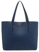 Shopping bag - navy/grey
