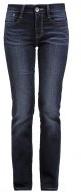 ALEXA - Jeans a sigaretta - dark stone wash denim