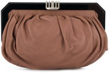 Marni Vintage - frame clutch bag - women - Leather - OS - BROWN