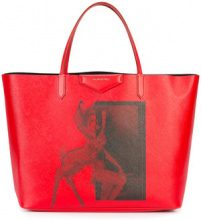 Givenchy - Bambi print tote - women - Acetate/Cotone - One Size - Rosso
