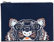 Kenzo - Tiger clutch - women - Polyester/rubber - OS - BLUE