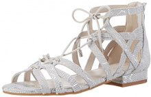 Kenneth Cole Valerie, Sandali con Zeppa Donna, Grigio (Cloud 399), 38 EU