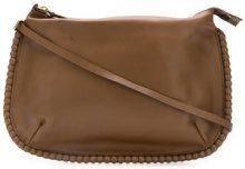 Marni Vintage - scalloped edge shoulder bag - women - Leather - OS - Marrone