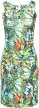 Abito in fantasia tropicale (Verde) - BODYFLIRT boutique