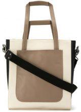 Mara Mac - leather tote bag - women - Leather - OS - NUDE & NEUTRALS