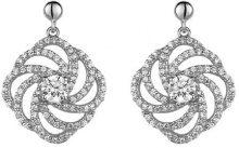 Orphelia Parure da donna: collana + Orecchini in argento Sterling 925con zirconi Wei 5178Set