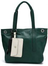 Mara Mac - leather tote bag - women - Leather - OS - GREEN