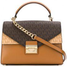 Michael Michael Kors - Sloan satchel bag - women - Leather - OS - BROWN
