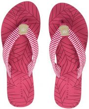 Marc O'Polo Beach Sandal 80314491002604, Infradito Donna, Rosso (Magenta Multicolor 332), 38 EU