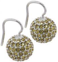 Burgmeister Jewelry - Orecchini pendenti da donna con cristallo Swarovski, argento sterling 925, 11 mm, cod. JBM1108-226