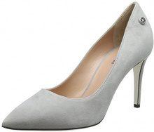 Pollini W.Shoe, Scarpe con Tacco Donna, Grigio (Pietra 019), 41 EU