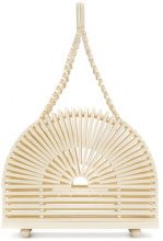 Cult Gaia - Borsa tote 'Cupola' - women - Bamboo - One Size - Color carne & neutri