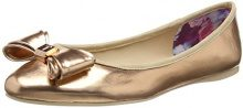 Ted Baker Immet, Ballerine Donna, Oro (Rose Gold), 38 EU