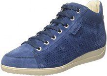Geox D Myria B, Sneaker a Collo Alto Donna, Blu (Denim), 38 EU