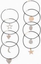 Bracciale bicolore (set 8 pezzi) (Oro) - bpc bonprix collection
