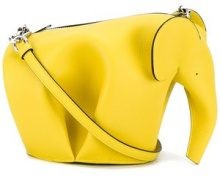 Loewe - Borsa mini 'Elephant' - women - Leather - One Size - Giallo & arancio
