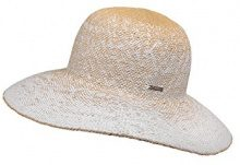 CaPO Miami Lady HAT, Cappello da Sole Donna, Bianco (Ecru 2), Taglia unica
