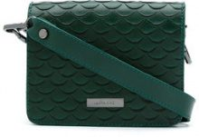 Mara Mac - leather crossbody bag - women - Leather - OS - GREEN