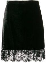 Miu Miu - Minigonna - women - Viscose/Silk/Polyester/glass - 40, 42, 44, 36, 38 - Nero