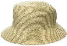 New Look Straw, Cappello alla Pescatora Donna, Grey (Stone), Taglia unica