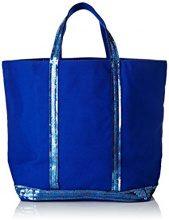 Vanessa Bruno Cabas Moyen+ - Borse Tote Donna, Bleu (Bleu Electrique), 18x33.5x49 cm (W x H L)
