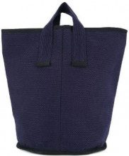 Cabas - Borsa tote 'Laundry Medium' - women - Cotone - OS - Blu