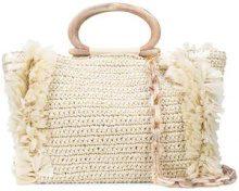 Carolina Santo Domingo - Corallina Large bag - women - Cotone - OS - Bianco