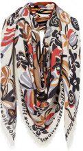 Fendi - Flowers shawl scarf - women - Silk/Wool - OS - Multicolore