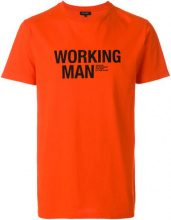 Ron Dorff - T-shirt 'Working Man' - men - Cotone - XL, XXL - RED